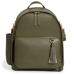 Skip Hop Greenwich Simply Chic Baby Diaper Bag Backpack w/ C