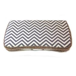Grey and White Chevron Baby Wipes Case Best Baby Shower Gift