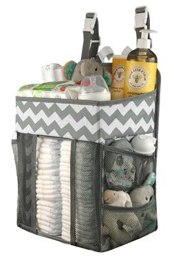 Babywards Hanging Diaper Caddy, Changing Table,Nursery Org