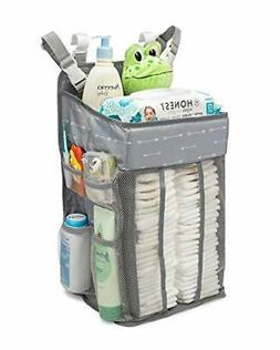 Hanging Nursery Organizer and Baby Diaper Caddy | Hanging Di