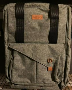 Hap Tim Multi-function Baby Diaper Bag Backpack Charcoal Col