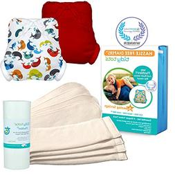 Tidy Tots Diaper Hassle Free 4 Diaper Snap Essential Set