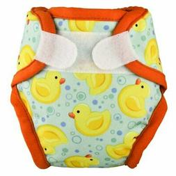 "Tidy Tots Diapers Hassle Free Hook & Loop Diaper Cover ""Duck"