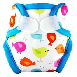 Tidy Tots Diapers Hassle-Free TweetHeart Hook & Loop Diaper