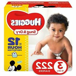 *HOT* HUGGIES Snug & Dry Diapers, Size: Newborn 1,2,3,4,5,6