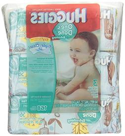 Huggies One & Done Baby Wipes, Soft Pack, Cucumber & Green T