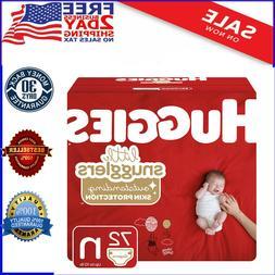 Huggies Snug & Dry Baby Diapers, Size Newborn , 132 Count