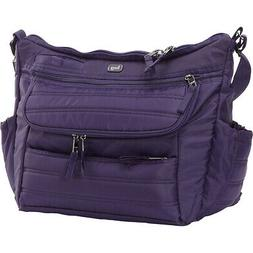 Lug Hula Hoop Carry-All Messenger Diaper Bag 2 Colors Diaper