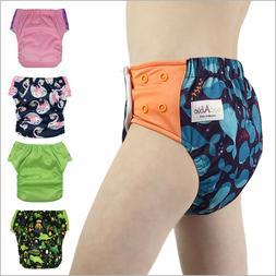 Hybrid Cloth Swim Diaper Potty Training Pants, Newborn Baby