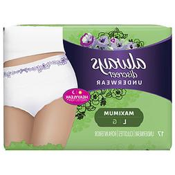 Always Discreet Incontinence Underwear, Maximum Absorbency,