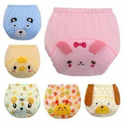 Infant Baby Kids Nappies Waterproof Diaper Cotton Briefs Was