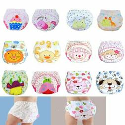 Infants Baby Toilet Pee Potty Training Cloth Diaper Underwea
