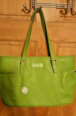 ItWorks! LIME GREEN HANDBAG- PURSE -DIAPER BAG