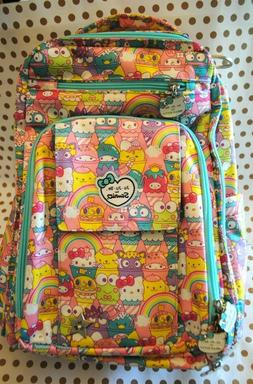 JuJuBe Be Right Back Structured Backpack/Diaper Bag, Sanrio