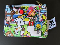 jujube team toki tokidoki athletes coin purse
