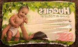 Huggies Pure & Natural Jumbo Diapers, Size 2, 30 ct