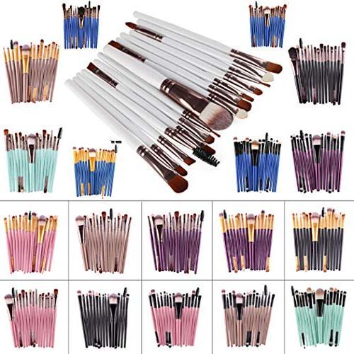 Diaper 15Pcs/Set Makeup Brushes Set Lip Brush Sets