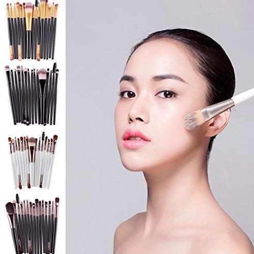 Diaper 15Pcs/Set Makeup Brushes Set Foundation Lip Brush Brush Sets