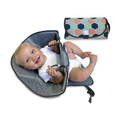 3-in-1 Baby Waterproof Diaper Home Travel Changing Mat Pad O