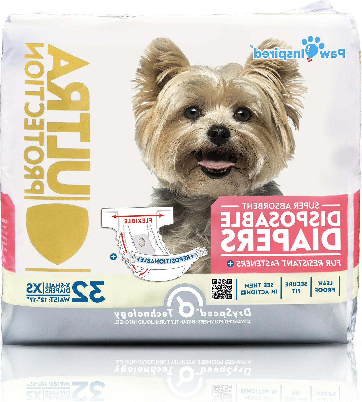 32ct disposable dog diapers female puppy diapers