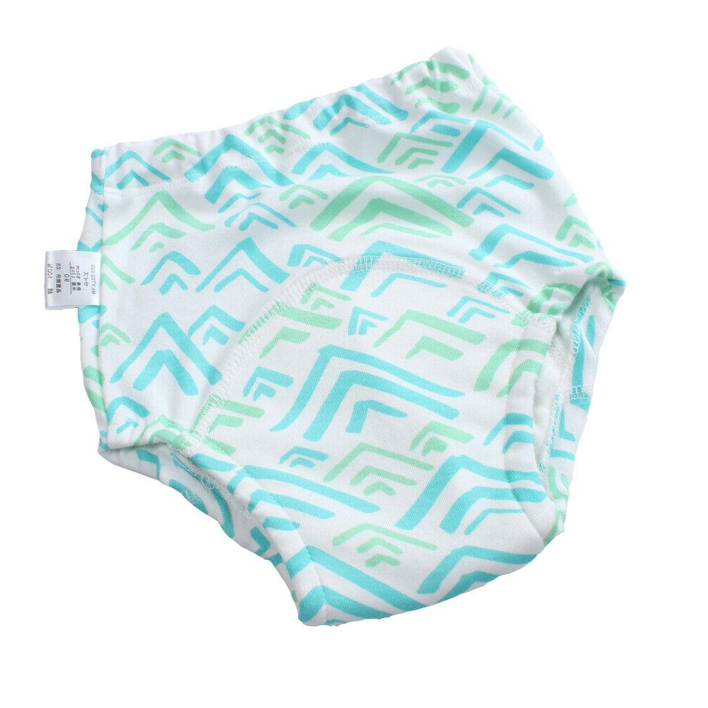 4Layers Baby Potty Pants Cover for Boy 18M-4T