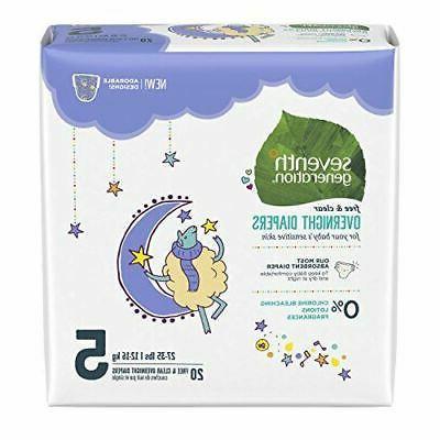7 gen diapers overnite s5