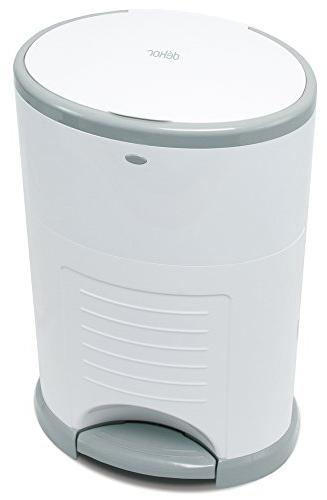 Dekor Classic Hands-Free Diaper Pail   to Use – Done   Doesn't Change Most Refill  
