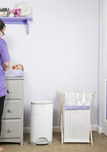 Dekor Classic Diaper Pail Use – Drop –   Doesn't Change Most Economical Refill System
