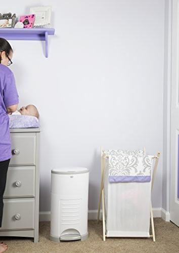 Dekor Diaper Pail Use   Just – Drop   Absorb   20 Change Refill System