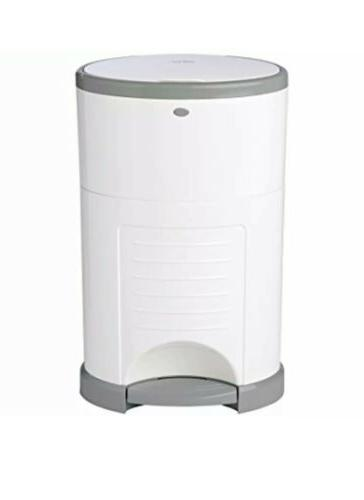 Dekor Classic Hands-Free Diaper Pail | Easiest to Use | Just