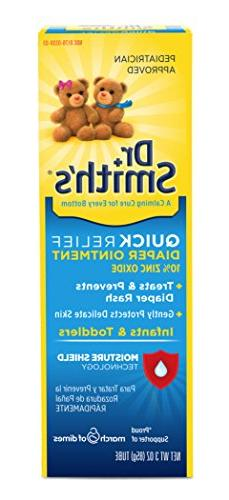 Dr. Smith's Quick Relief Diaper Rash Ointment, 3 Ounce