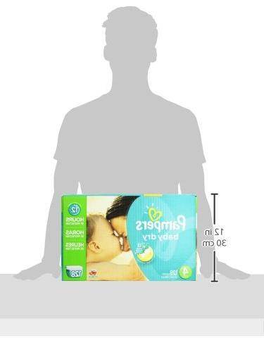 Pampers Dry Size Pack, 128