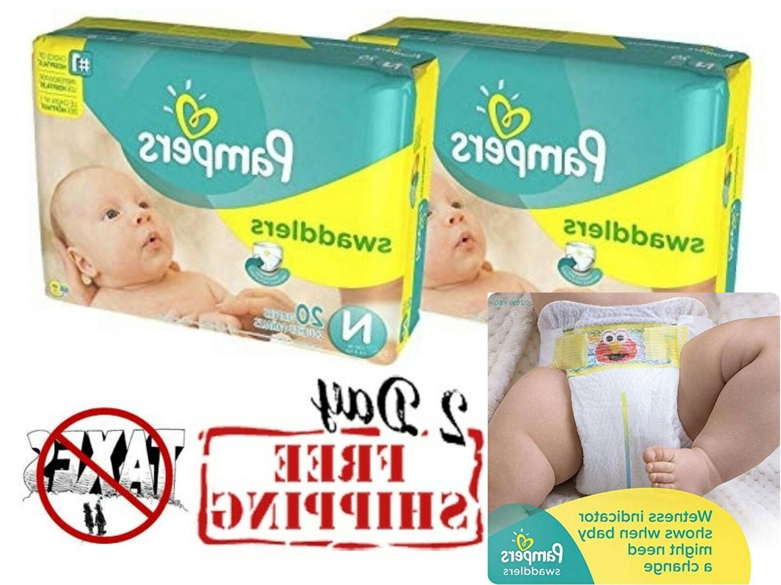 Pampers Swaddlers Newborn 240 Diapers