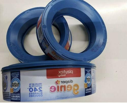 Playtex - Diaper Genie Elite, Essentials, Refill, 240ct