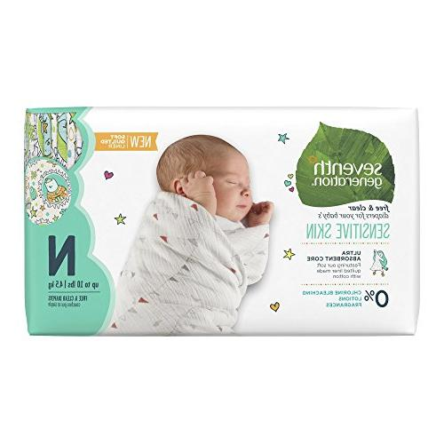 Seventh Generation Free and Clear Sensitive Skin Unbleached