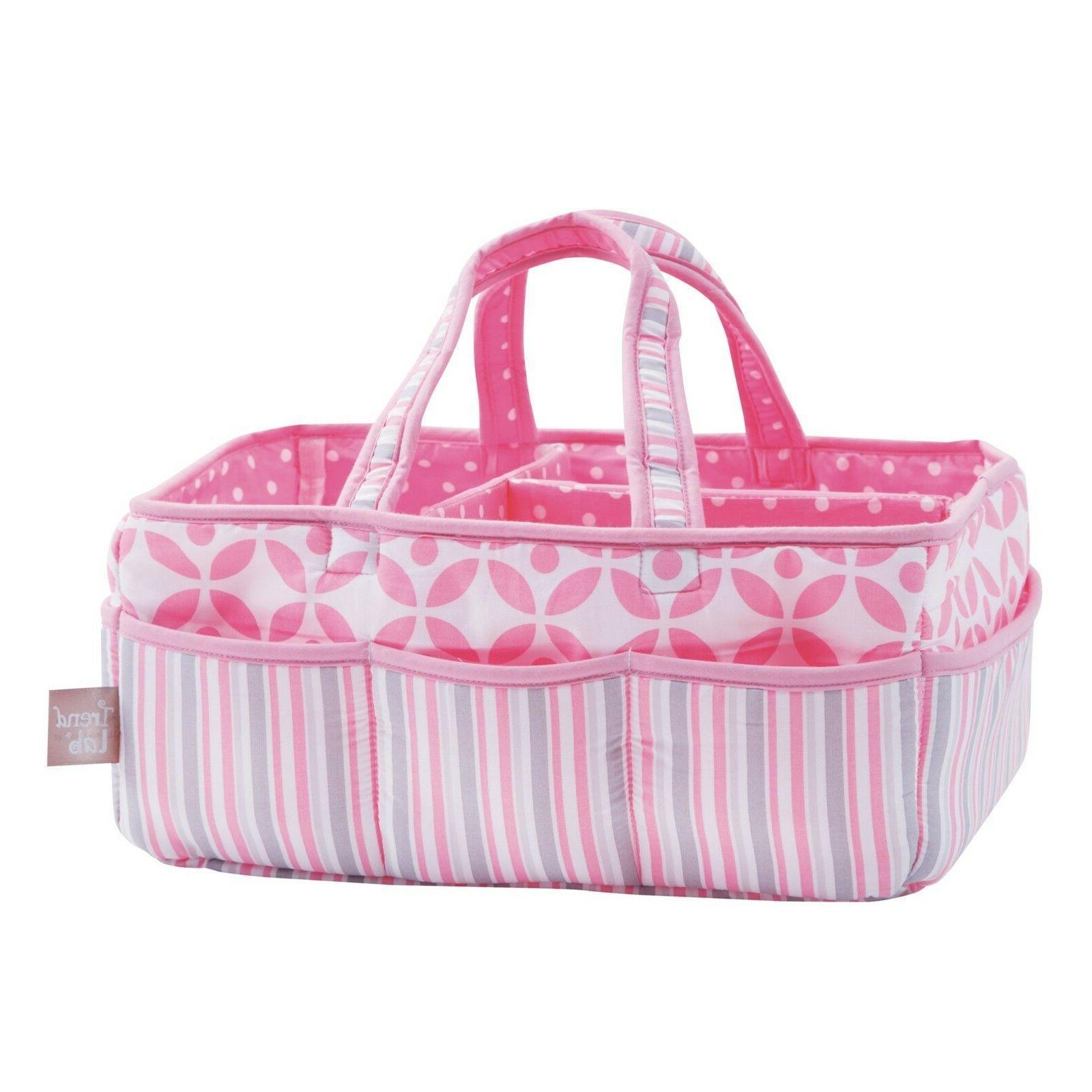 Trend Lab Lily Storage Caddy, Pink