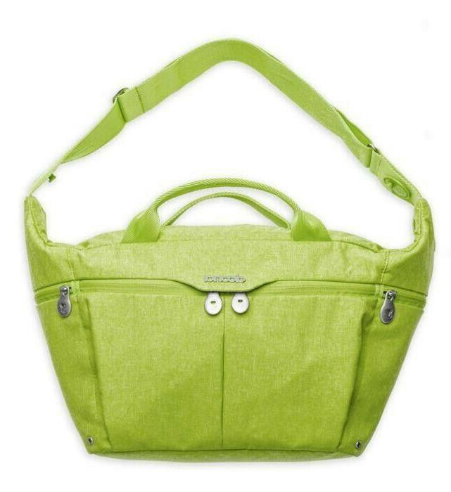 all day diaper bag in green