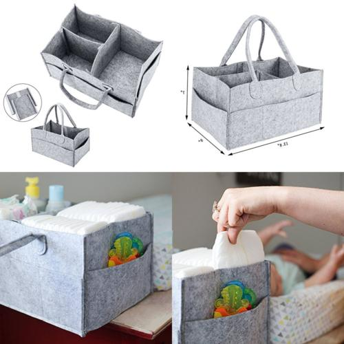 baby diaper caddy organizer i tote bag