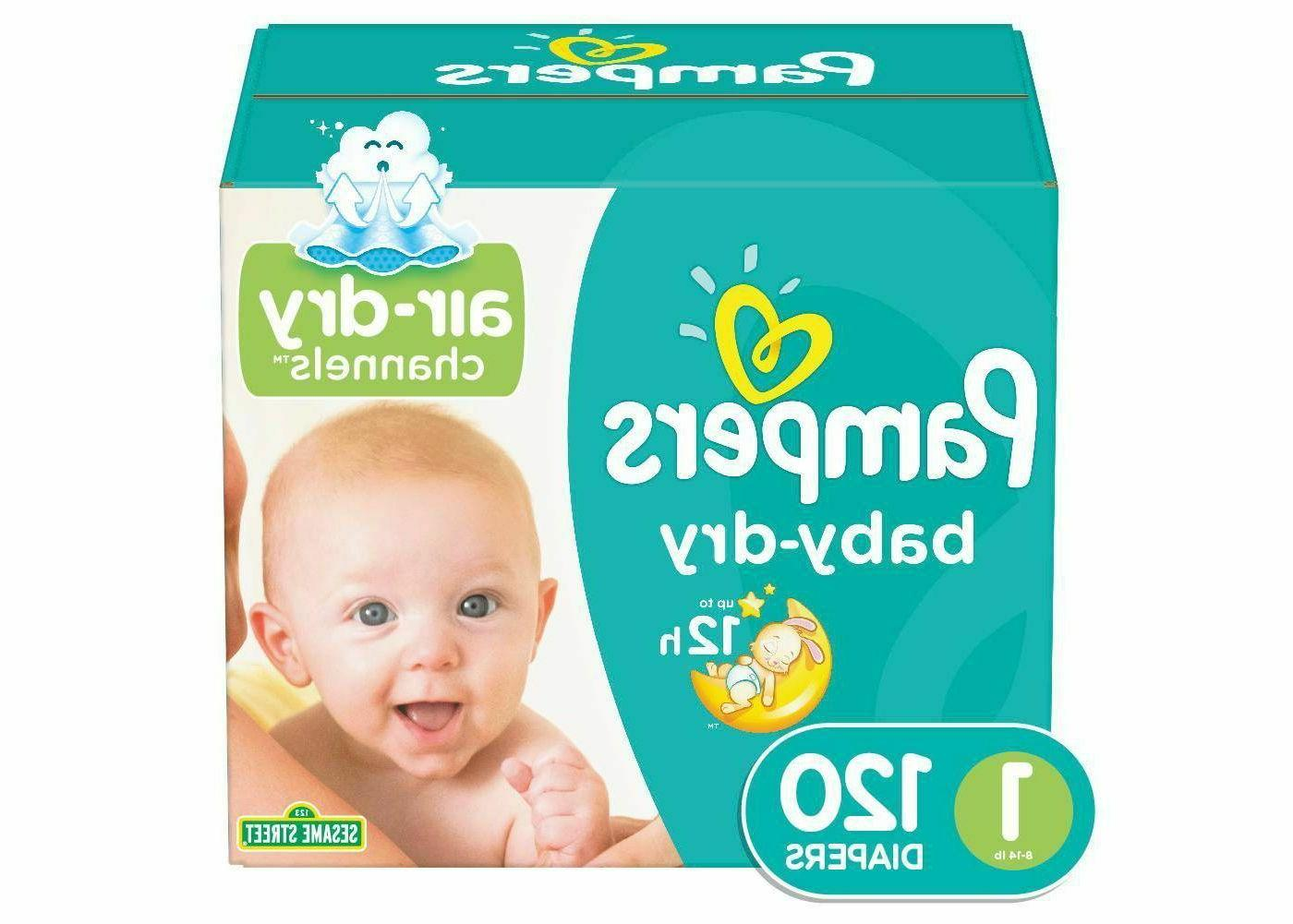baby dry diapers super pack select size