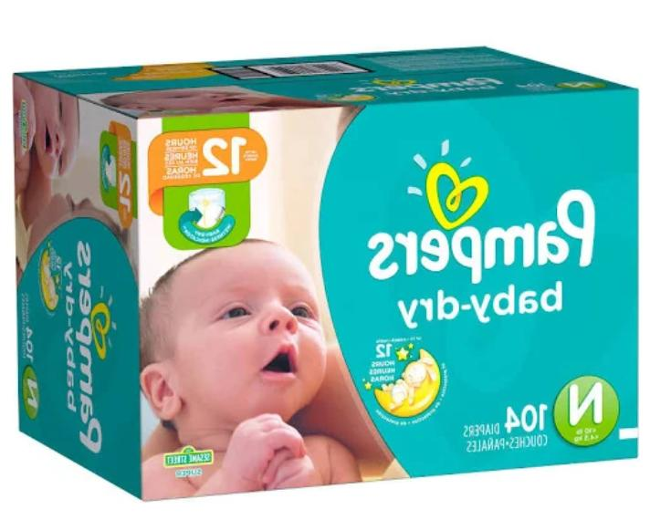 Pampers Disposable Newborn Count