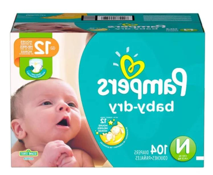 Pampers Newborn 0, Count