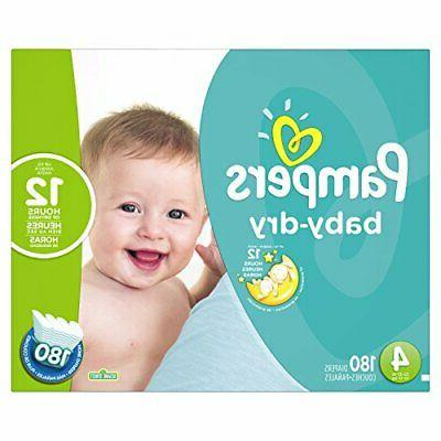 baby dry disposable diapers size 4 180