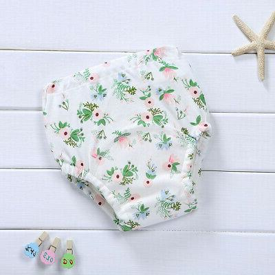 Baby Cotton Underwear Toilet Training Cloth Nappy Pants