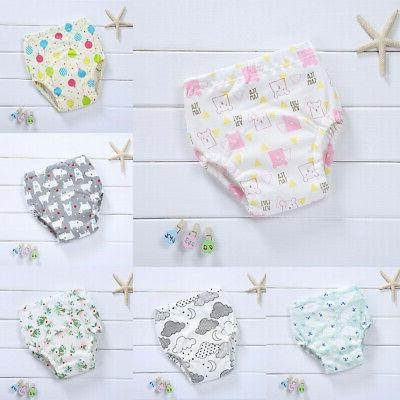 Baby Boy Cotton Underwear Cloth Diaper Nappy