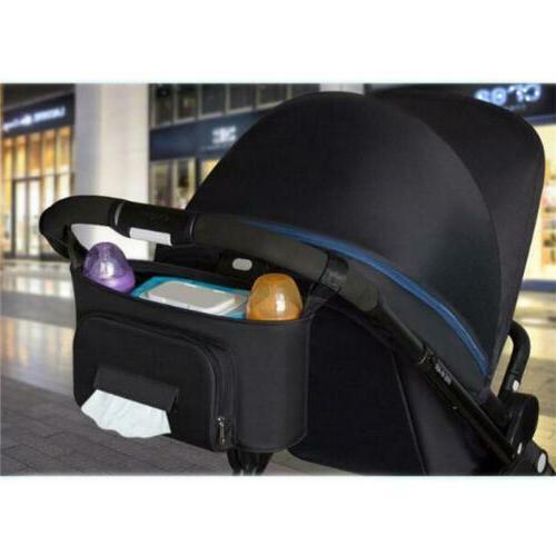 Baby Nappy Diaper Feeding Bottle Bag Stroller Organizer Stor