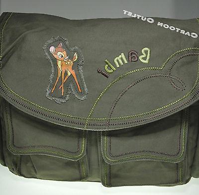 DISNEY BAMBI BAG/TOTE/BACKPACK GREEN BAG DANCE BAG