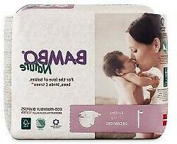 Bambo® Nature Baby Diaper Size 2 7 to 13 lbs. 16048 180 /Ca