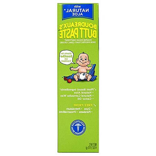 butt paste diaper rash ointment