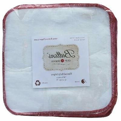 Buttons Covers Reusable Washable Natural Wipes
