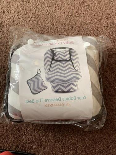 car seat cover stretchy canopy